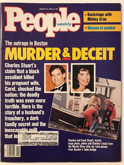 People Magazine January 22 1990