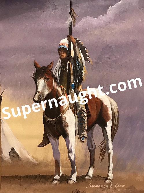 Fernando Caro painting