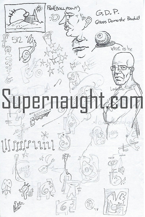 Cary Stayner Drawings
