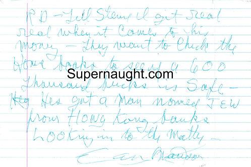 Charles Manson writings