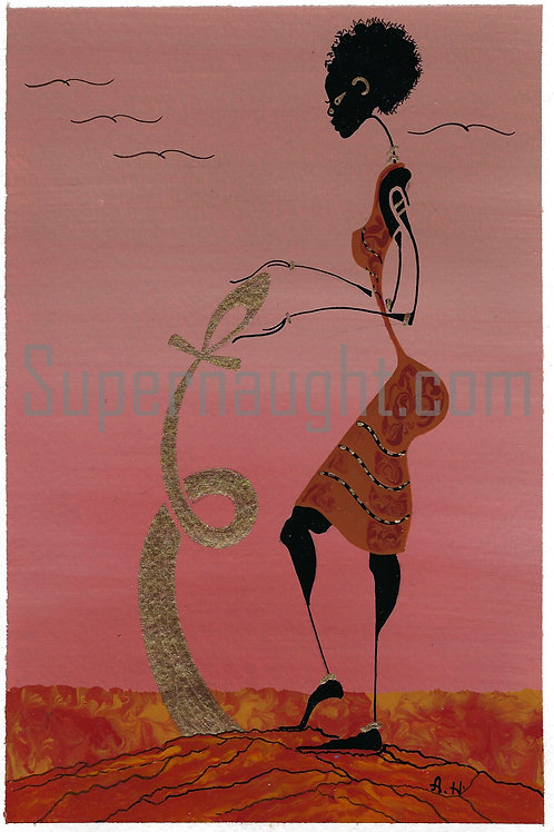 Alphonso Howard Handmade Card