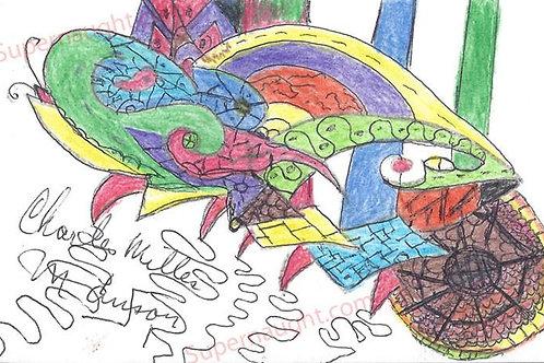 Charles Manson authentic artwork