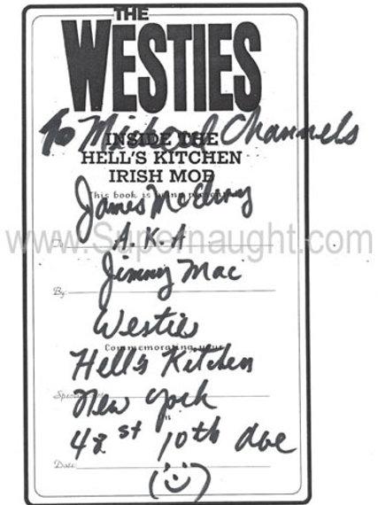 James McElroy Westies Hells Kitchen