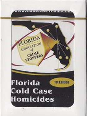 Florida Case Case Homicides Playing Cards