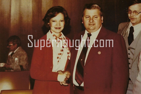 John Wayne Gacy Rosalynn Carter photo
