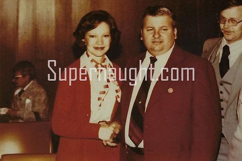 John Wayne Gacy Rosalynn Carter photo