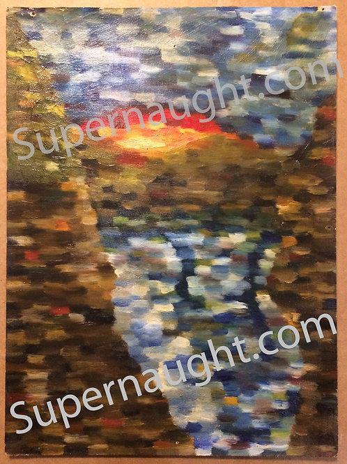 Robert Berdella original painting