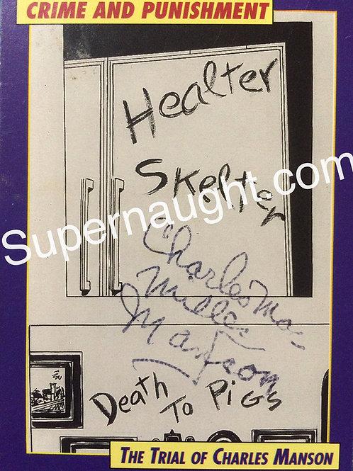Charles Manson Signed Helter Skelter