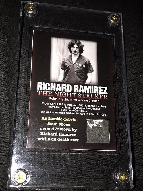 richard ramirez card