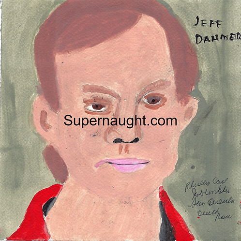 Jeffrey Dahmer painting