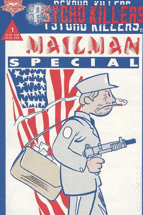 psycho killers mailman comic book