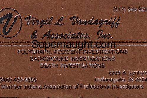 Virgil L. Vandergriff Herb Baumeister