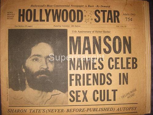 Hollywood Star Charles Manson