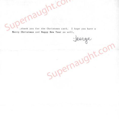 George putt letter