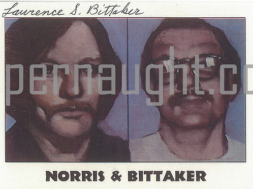 Lawrence Bittaker signed trading card