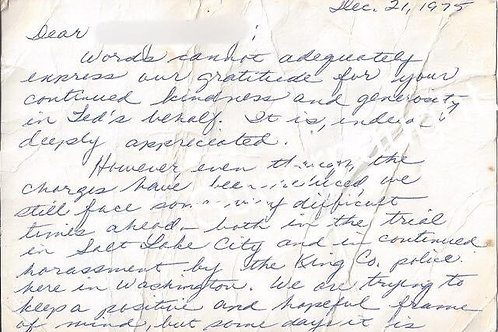 louise bundy handwriting