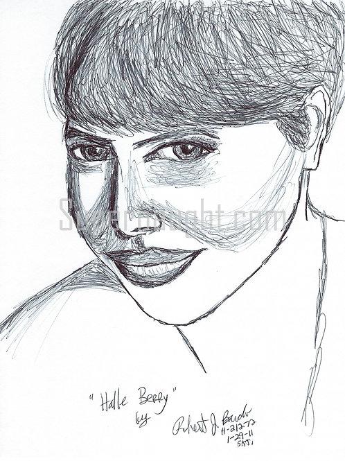 Halle Berry portrait