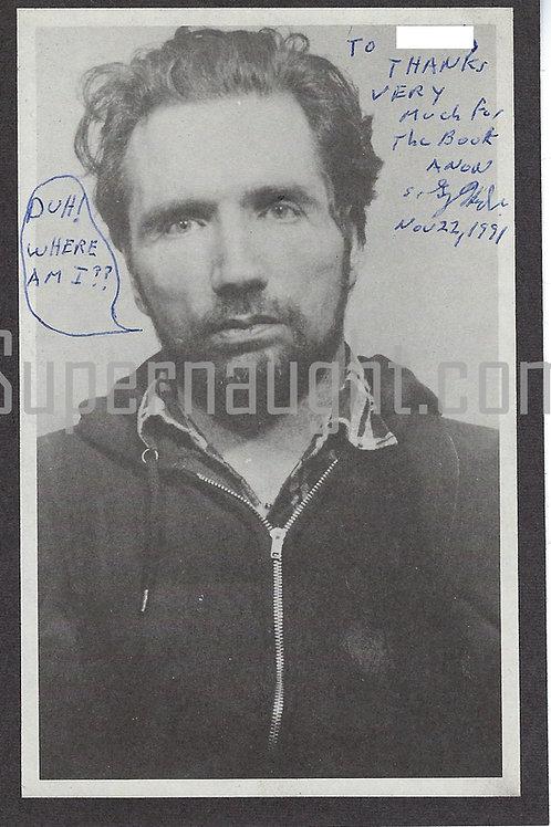 Gary Heidnik signed photo