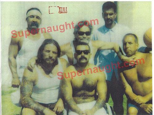 Charles Manson PHU Prison Yard Photo