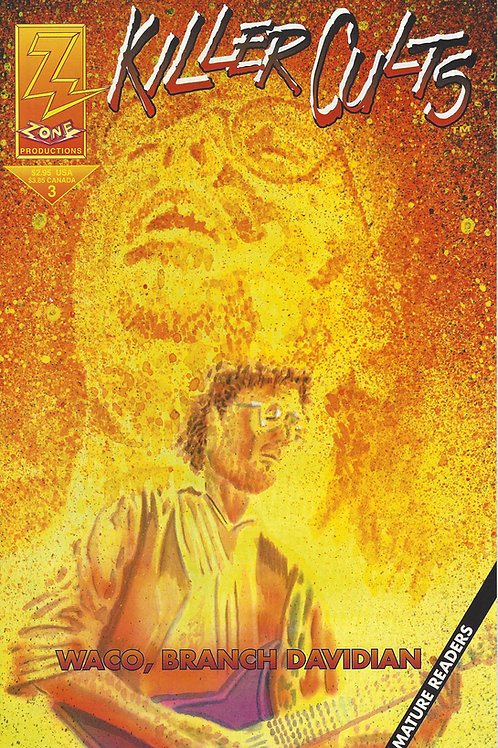 david koresh comic book