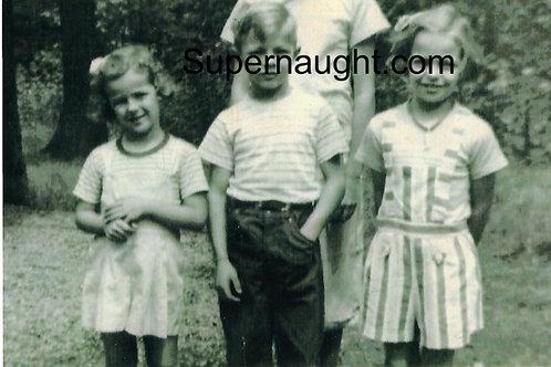Larry Bittaker child photo signed