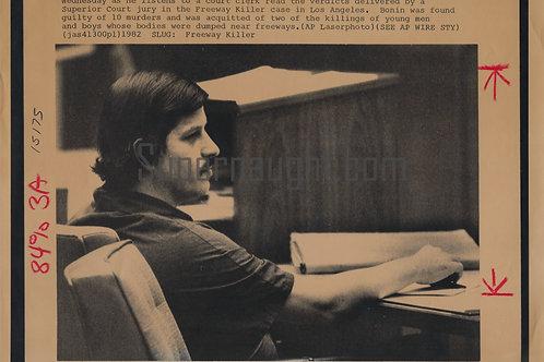 William Bonin press photo