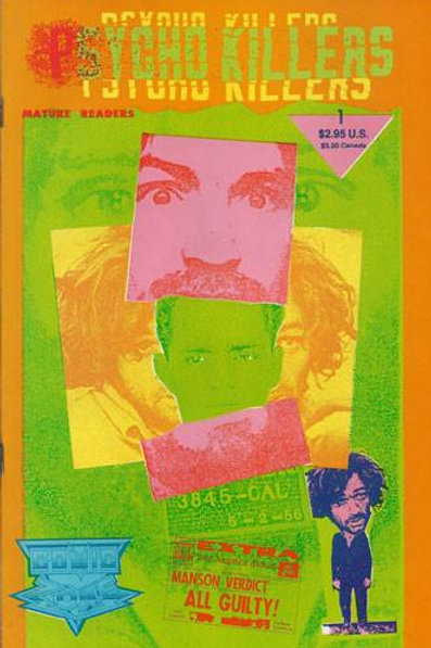 Charles Manson Psycho Killers 1992 Comic Book