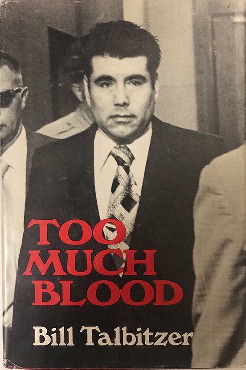 too much blood hardcover