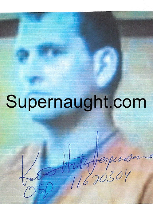Keith Jesperson signed photo