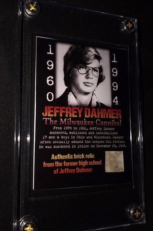 Jeffrey Dahmer School Brick Card