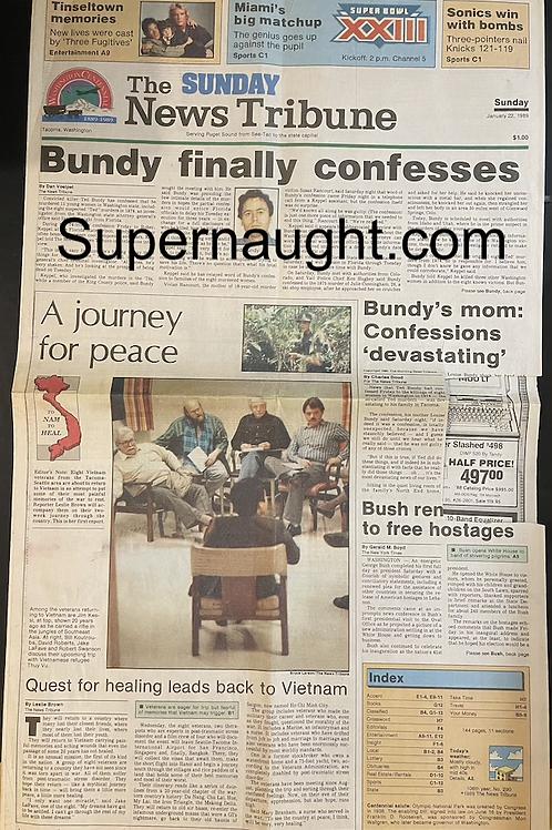 Ted Bundy tacoma newspaper