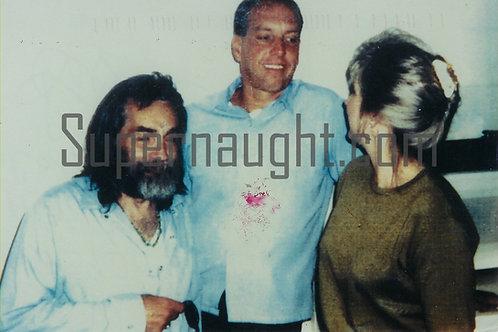 Manson autographs