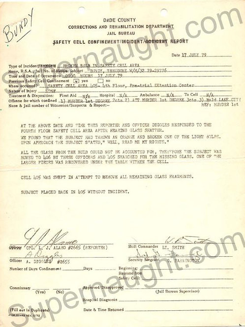 ted bundy report