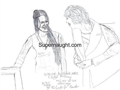 Casey Anthony drawing Robert Bardo