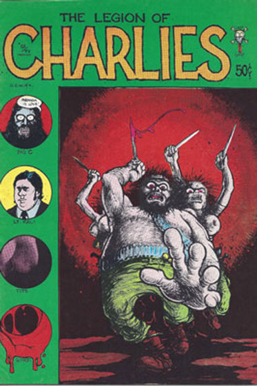The Legion Of Charlies comic