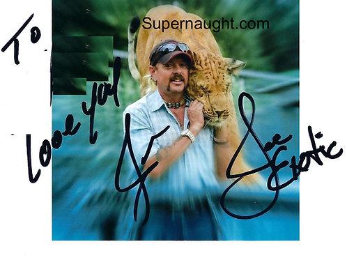 Joe Exotic autograph