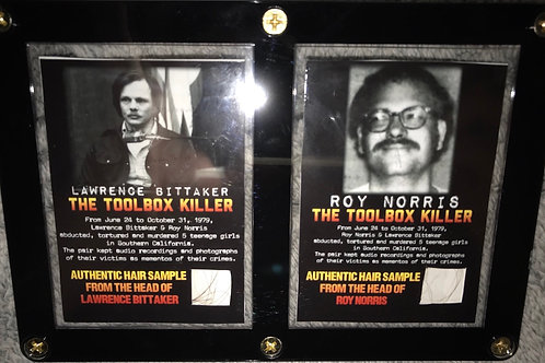 Lawrence Bittaker and Roy Norris Hair Collector Cards