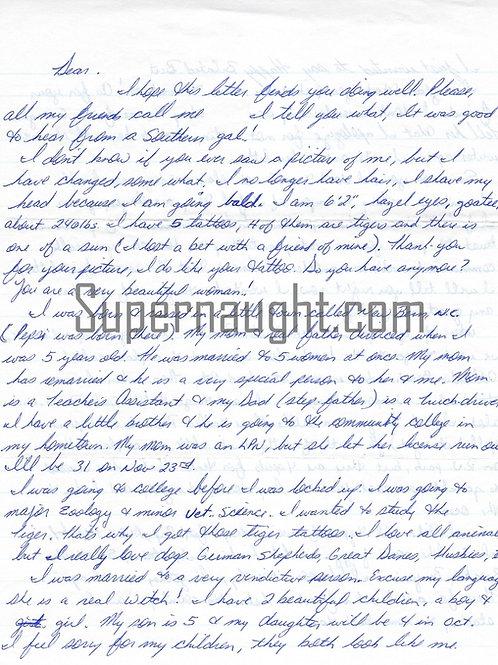 john armstrong letter