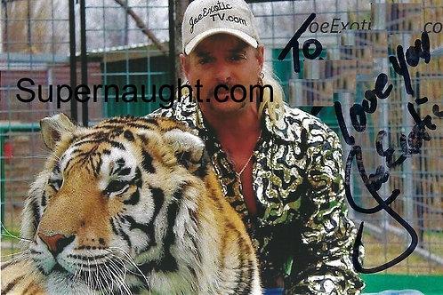 Joe Exotic signed photo