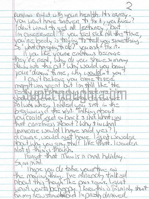 Natasha Cornett letter