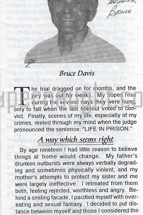 Bruce McGregor Davis Autograph