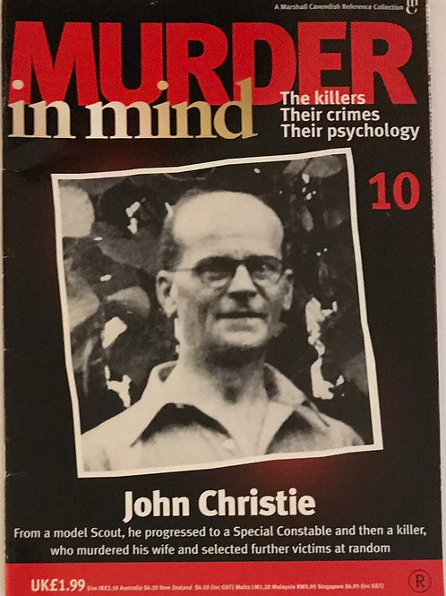 Murder in Mind John Christie Issue 10