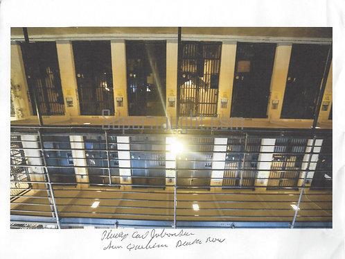 Phillip Jablonski Signed Photo San Quentin Death Row