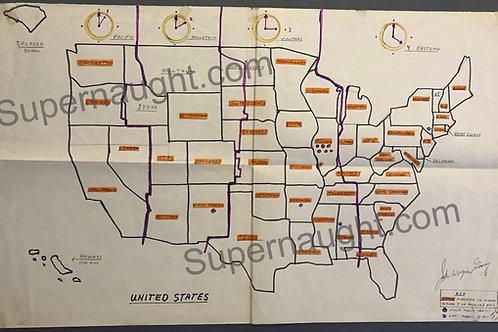 john wayne gacy map