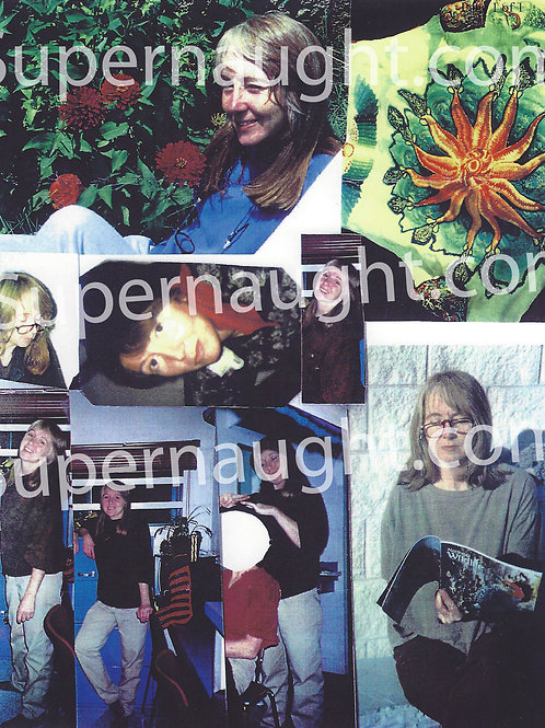Lynette Fromme Photo Collage Manson Family