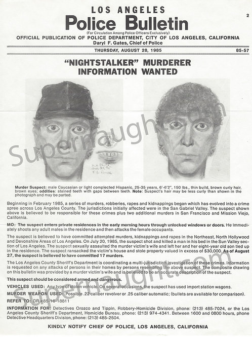 nightstalker wanted