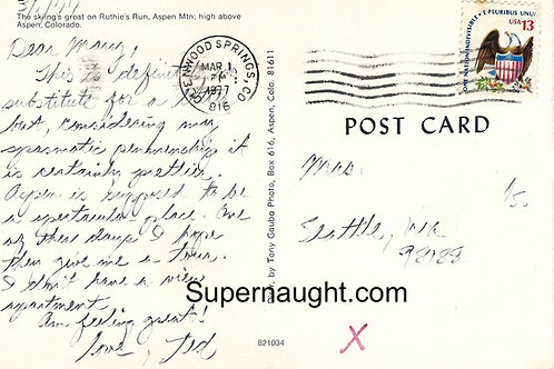Ted Bundy 1977 correspondence