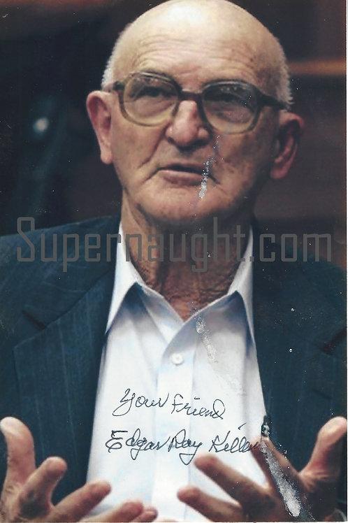 Edgar Ray Killen Signed Photograph Deceased
