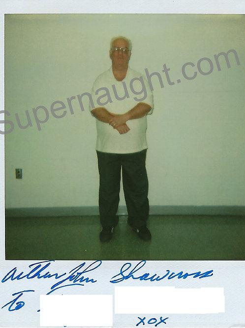 Arthur Shawcross Signed Polaroid