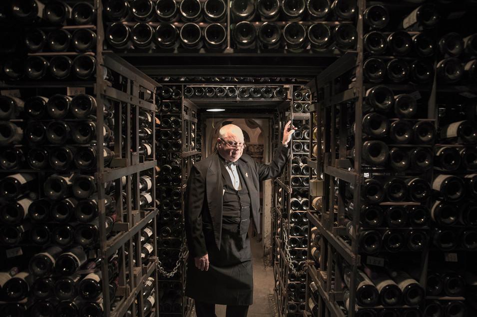 12°5 - Les clés de la cave - La tour d'argent -David Ridgway